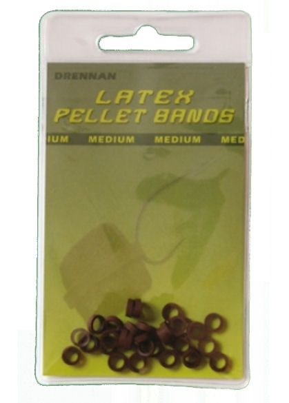 Drennan Latex Brown Pellet Bands
