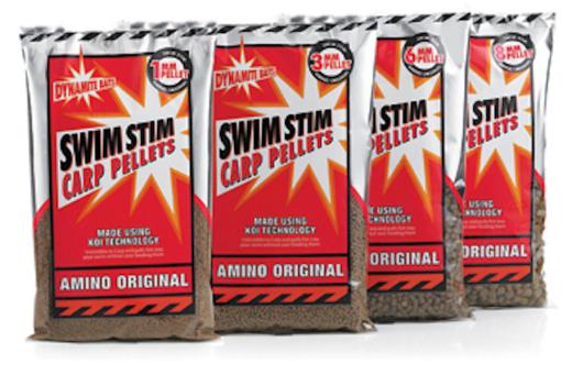Dynamite Baits Swimstim Amino Original Carp Pellets