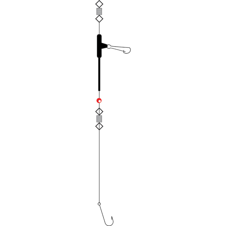Tronixpro Uptide Pennel Rig 6/0