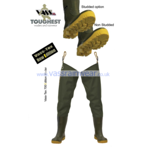 Vass Tex Nova 700 Cleated Thigh Waders