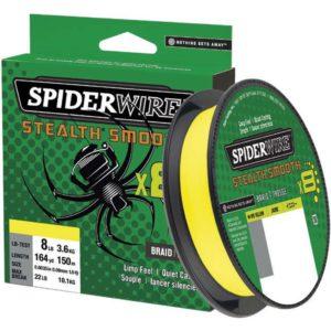 Spiderwire Stealth Smooth Braid Hi Viz Yellow