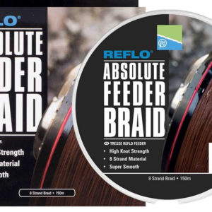 Preston Innovations Absolute Feeder Braid 150 mt 0.10mm 15.8lb