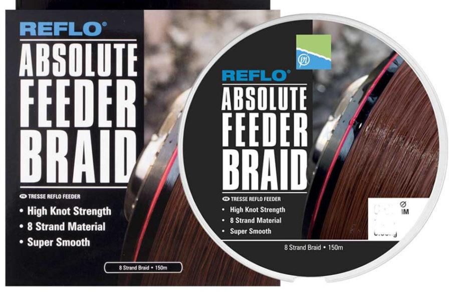 Preston Innovations Absolute Feeder Braid 150 mt 0.10mm 15.8lb