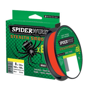 Spiderwire Stealth Smooth Braid Red 108lb 0.40mm 240m