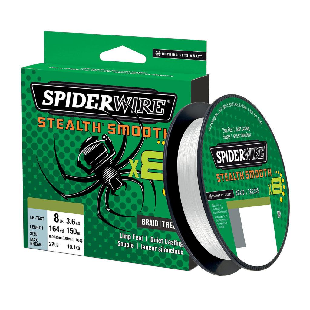 Spiderwire Stealth Smooth Braid White 108lb 0.40mm 240m