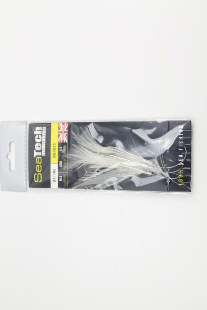 SeaTech Cod Feathers 3 Hook Sea Trace 6/0